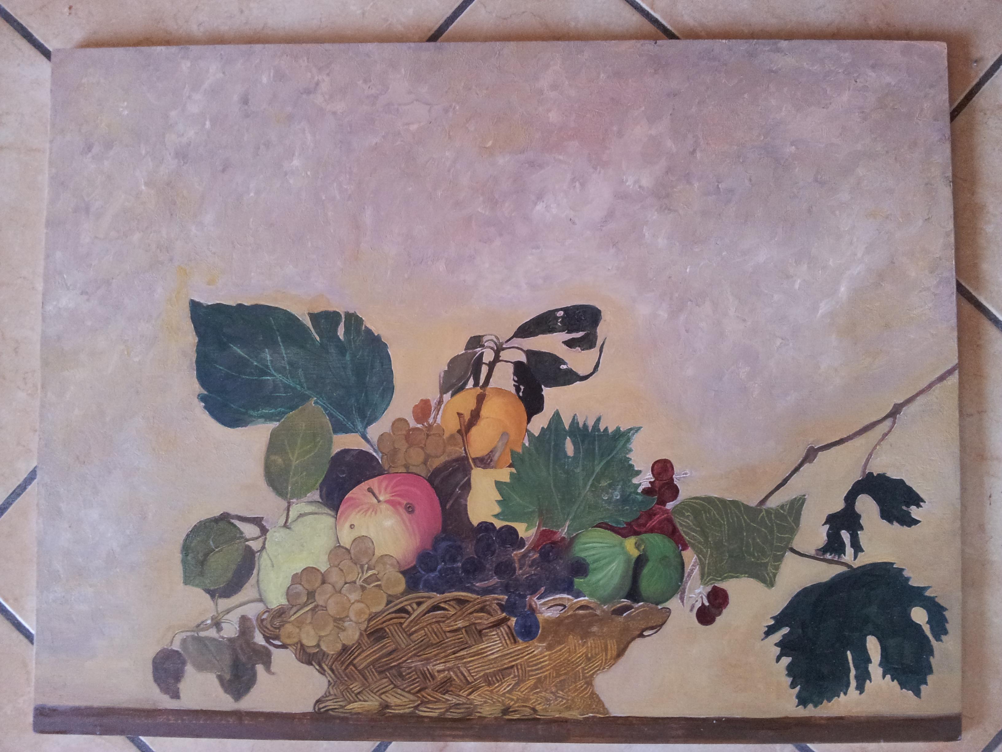 Canestra Frutta Caravaggio